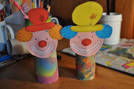 Clown Aus Klopapierrollen Spamfighter Club