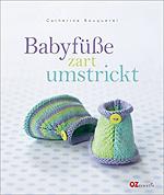 Babyfüße zart umstrickt - Cover