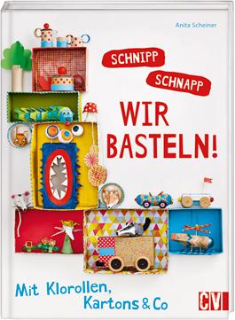 Cover Bastelbuch Schnipp Schnapp wir basteln