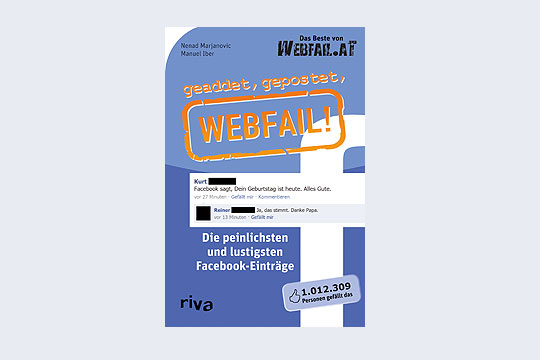 Buch: geaddet, gepostet, webfail