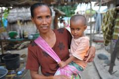 Bräuche zur Geburt in Bali / Indonesien
