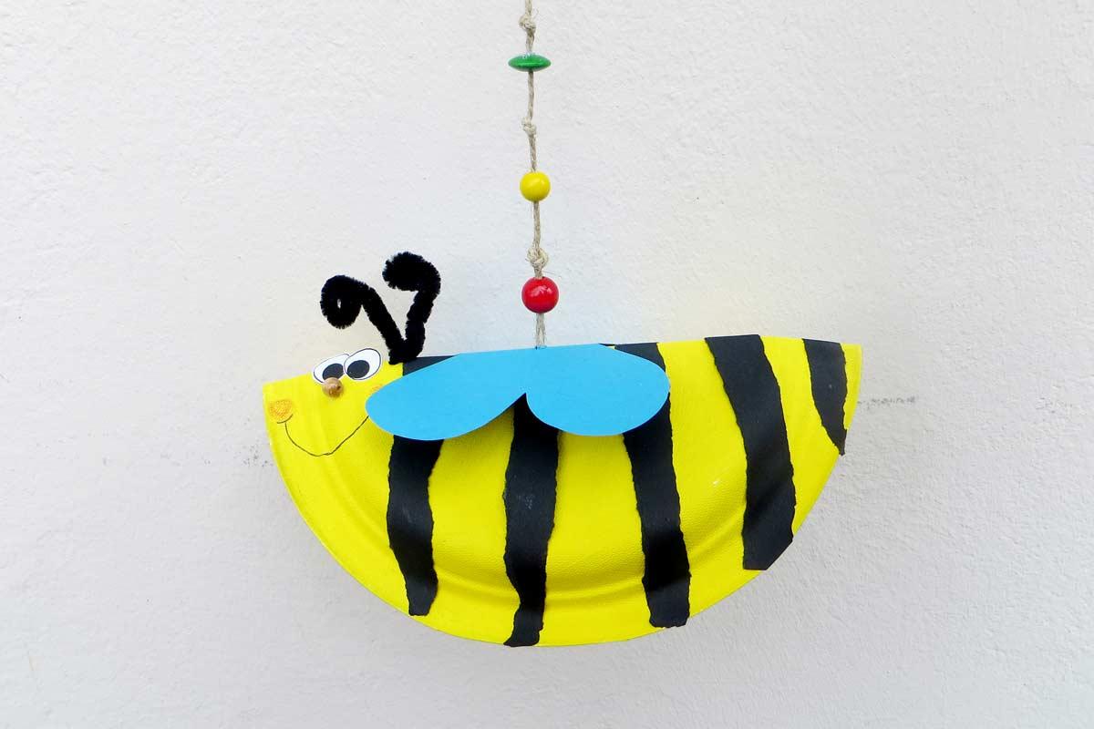 Brumm, brumm: So bastelt man eine Biene