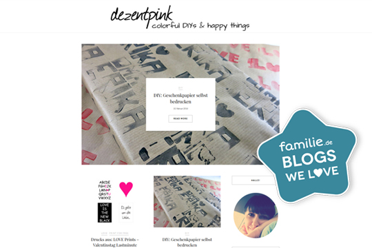 Blogs: dezentpink