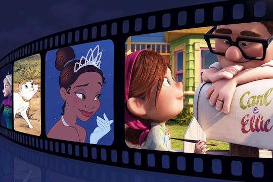 Schöne Vornamen aus Disney-Filmen