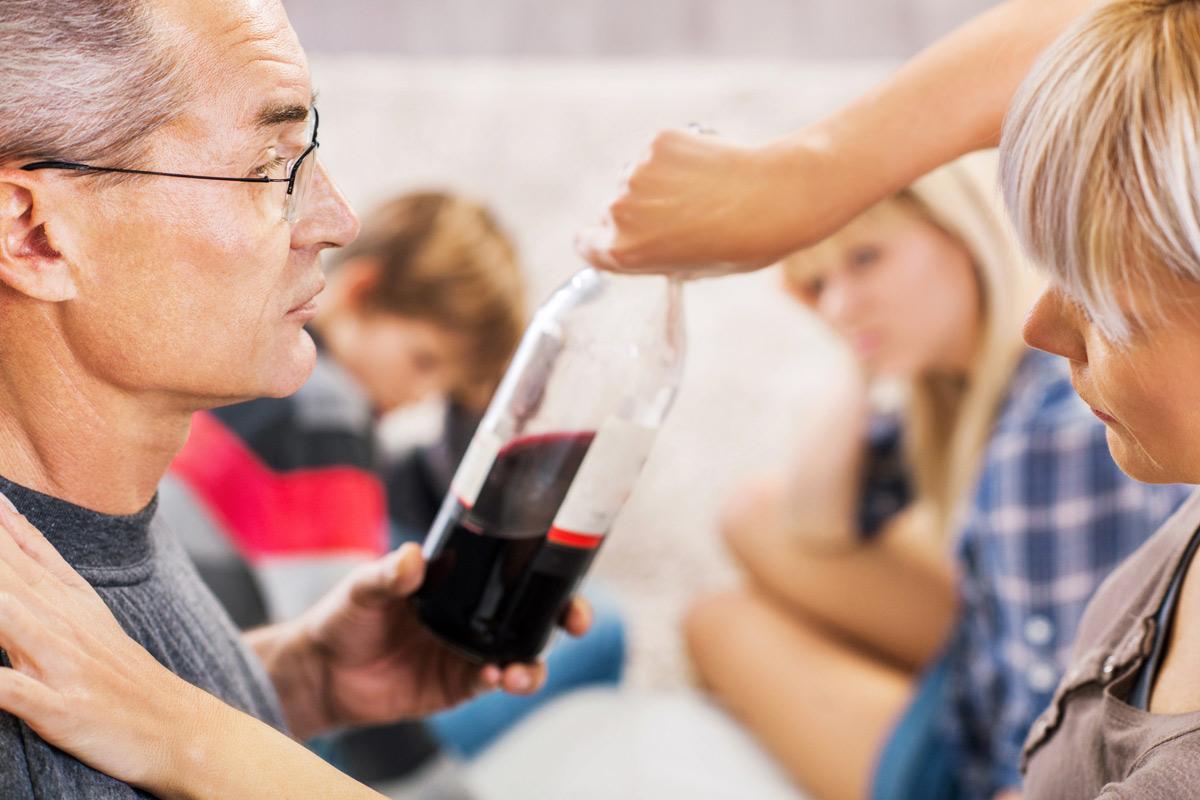 Eltern trinken