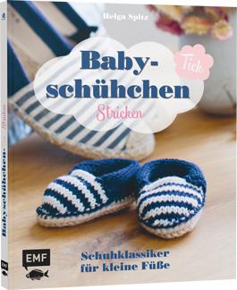 Babyschühchen-Tick Stricken EMF