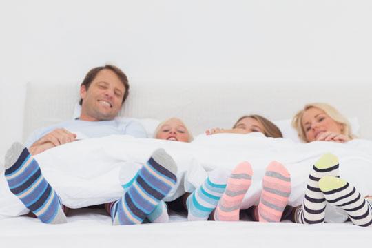Erkältung vorbeugen: Warme Füße