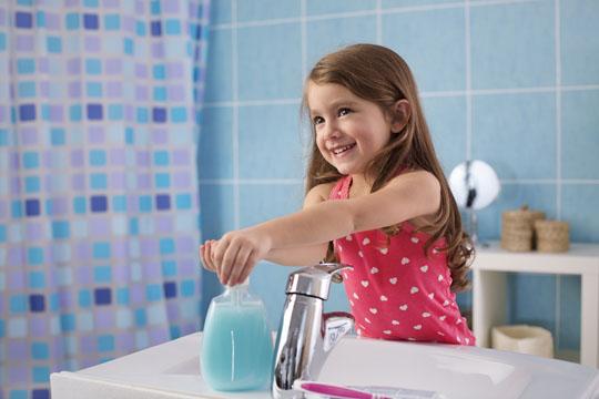 Erkältung vorbeugen: Hände waschen