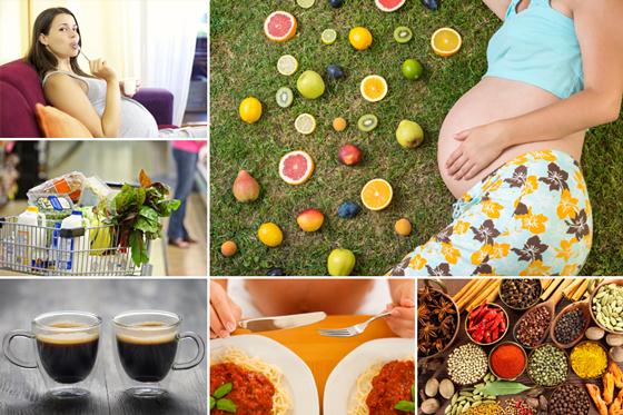 Ernährungsfragen in der Schwangerschaft