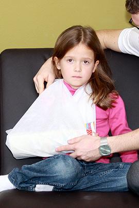 Erste Hilfe: Schienen beim Knochenbruch