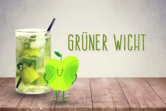 Cocktails für Kinder: Grüner Wicht