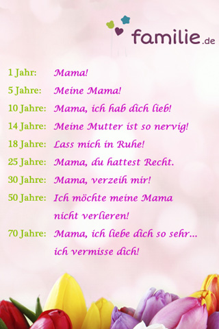 Facebook Sprüche: Liebe Mama   Bilder   Familie.de