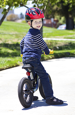 Fahrrad fahren lernen: Zuerst kommt das Laufrad