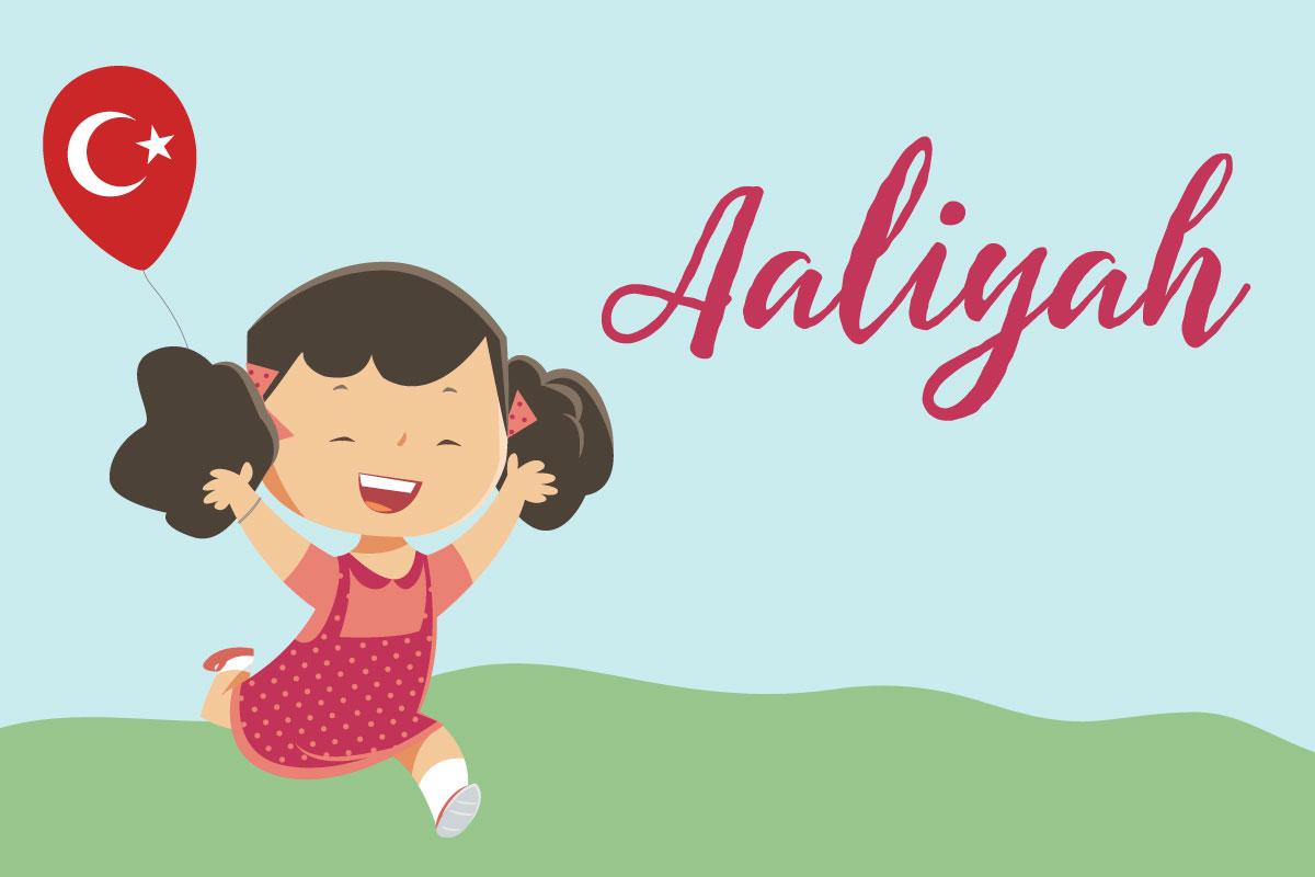 Türkische Namen Aaliyah