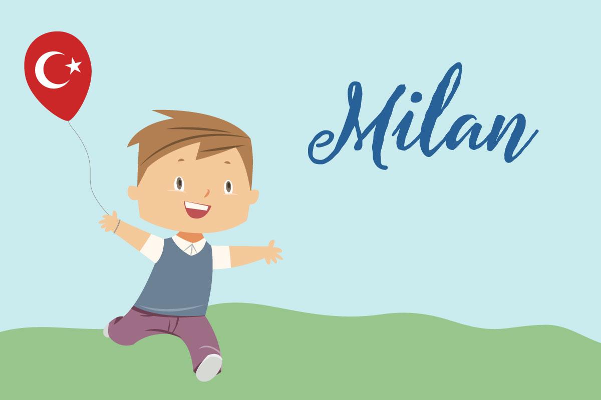 Türkische Vornamen: Milan