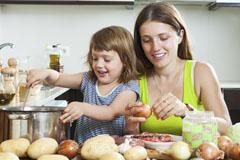 Gesunde Familienküche