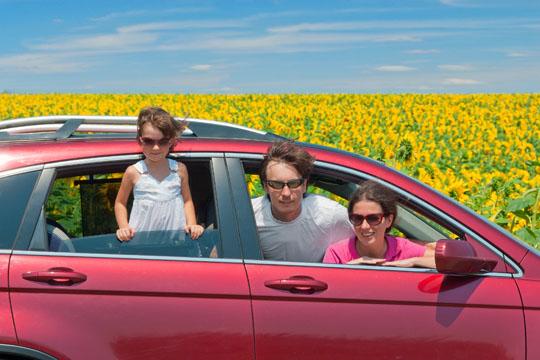 Urlaub mit Kindern - Anreise