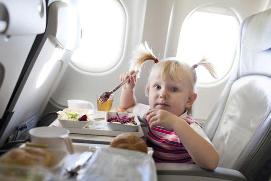 Urlaub mit Kindern: Flugzeug