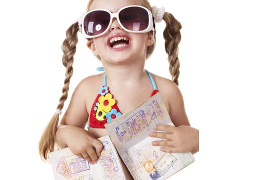 Urlaub mit Kindern: Kinderpass