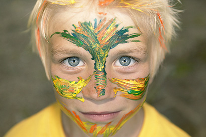 Faschingsschminke: 5 Tipps für hautschonendes Kinderschminken