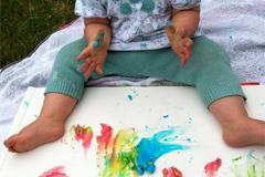 Ungiftige Fingerfarben