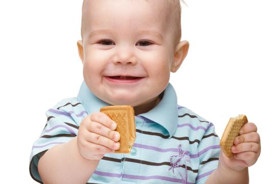 Kekse zum Knabbern fürs Baby