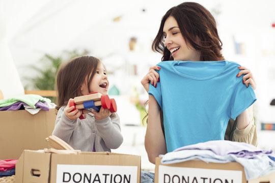 Aktivitäten mit Kindern: Flohmarkt