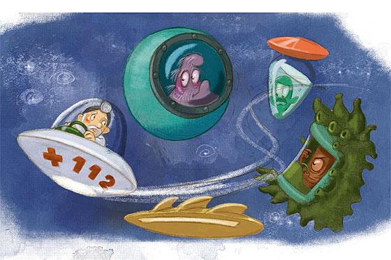 Doktor Fritjof und die außerirdischen Notfälle (ab 4 Jahren)