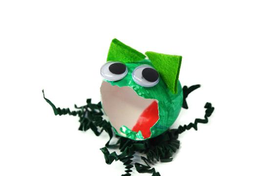 Osterei-Frosch