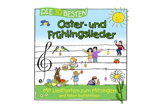 Frühlingslieder auf CD