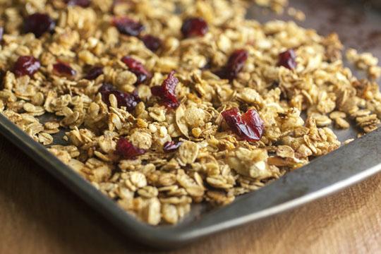 Kinderfrühstück: Granola