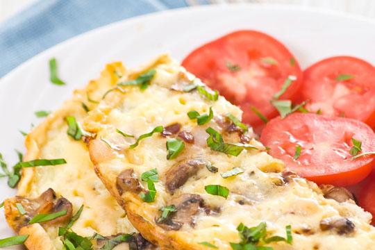 Frühstücksrezept: Omelette