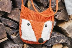 Fuchs-Tasche stricken