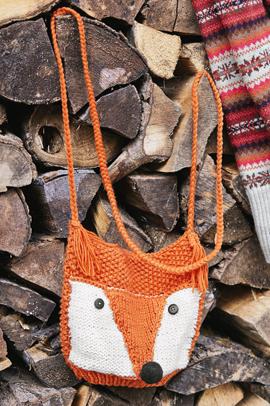 Fuchs-Tasche stricken, so geht's