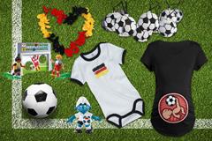 Fußball-Fanartikel für die ganze Familie