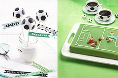 Fußball-Rezepte: Cake-Pops und Fußball-Torte
