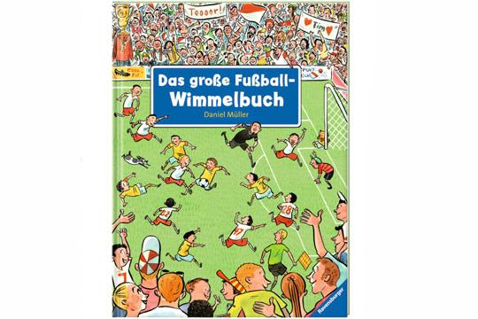 Fußballbücher: Das große Fußball-Wimmelbuch