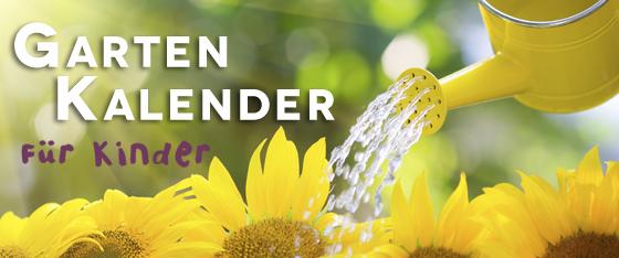 Gartenkalender für Kinder