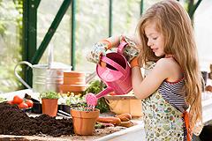 Kinder-Gartenkalender April