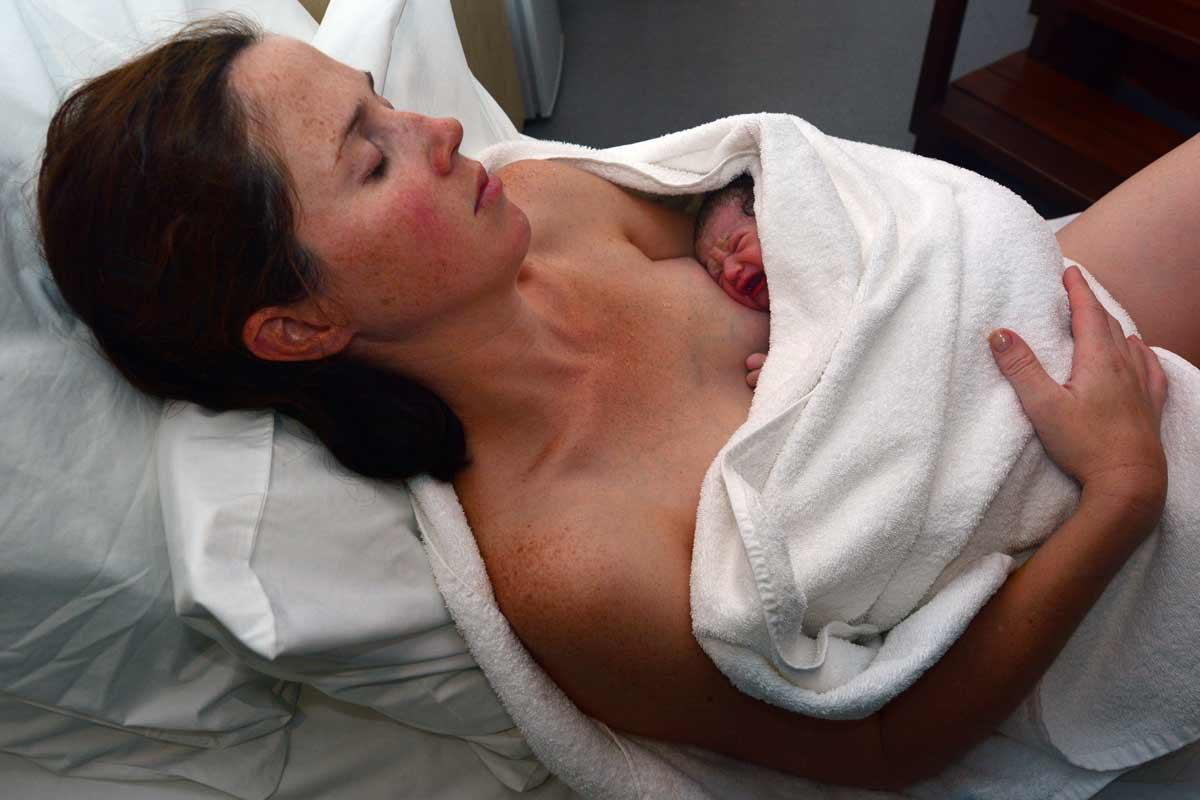 Rückbildungsgymnastik für Mütter