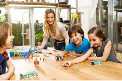 Gesellschaftsspiele für den Kindergeburtstag