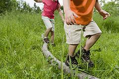 Gleichgewichtssinn der Kinder gezielt fördern