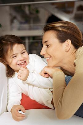 Gute Mutter sein: Auch mal blödeln