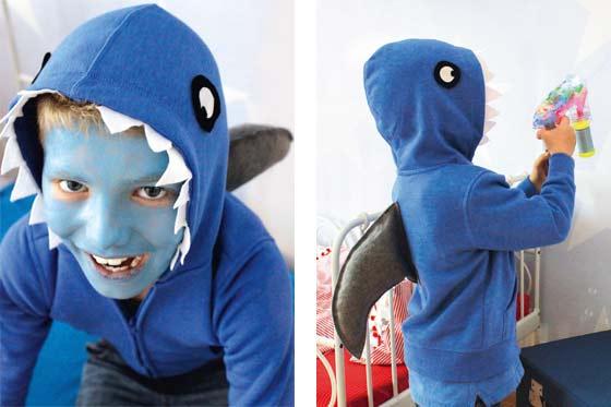 Einfaches Hai Kostum Zum Selbermachen Familie De