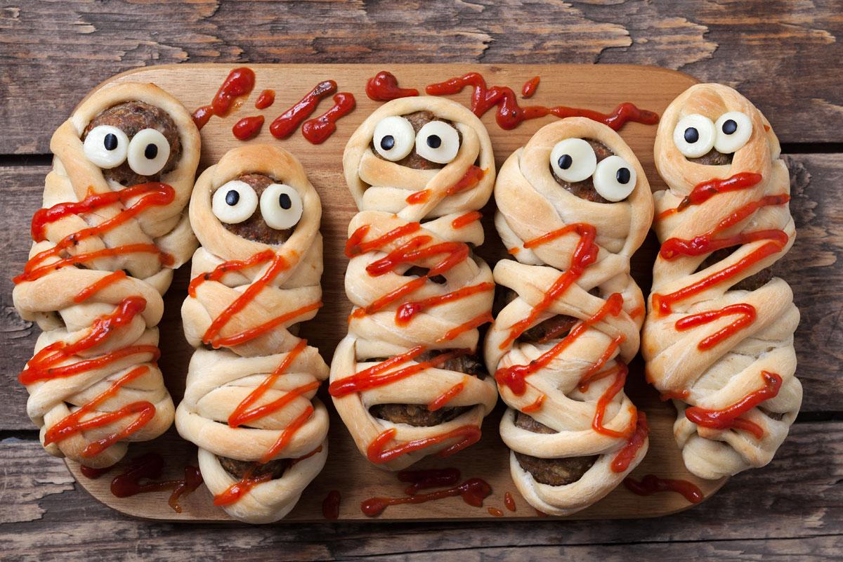 Halloween-Rezepte: Ein Grusel-Menü