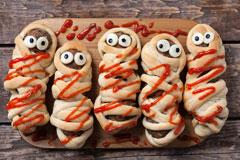 Grusel-Menü für Halloween