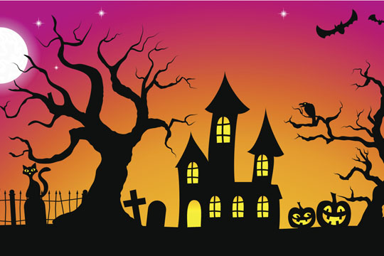 halloween spr che bilder. Black Bedroom Furniture Sets. Home Design Ideas