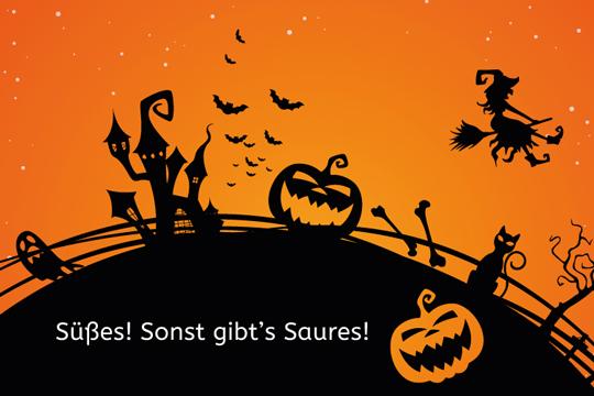 Süßes! - Noch mehr Halloween-Sprüche