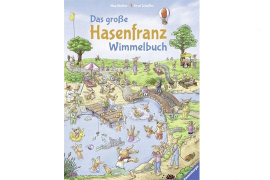 Osterbücher: Das große Hasenfranz-Wimmelbuch