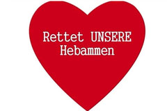Hebammenprotest - Petition